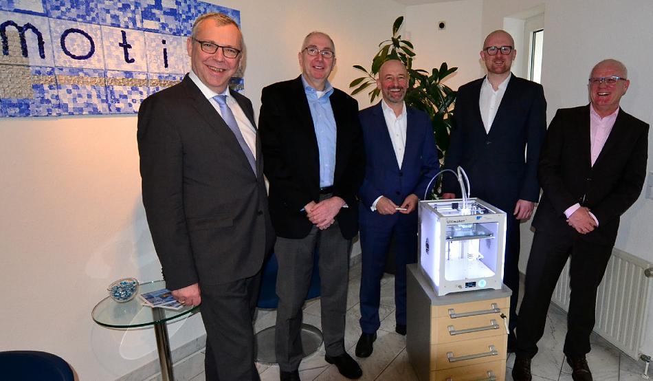 Duisburger Oberbürgermeister besucht die it-motive AG