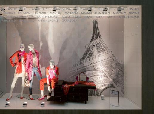 Auf der Euroshop 2014 präsentierte Oktalite moderne Lichtlösungen