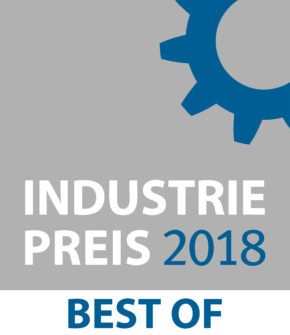 Industriepreis 2018 für die it-motive
