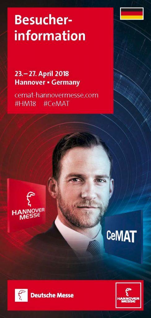 Broschüre zur Hannover Messe 2018