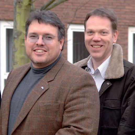 Dirk Ruttkowski und Udo Gläsel - von links
