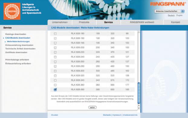 Einbindung CAD Generator in die Ringspann Website (3)