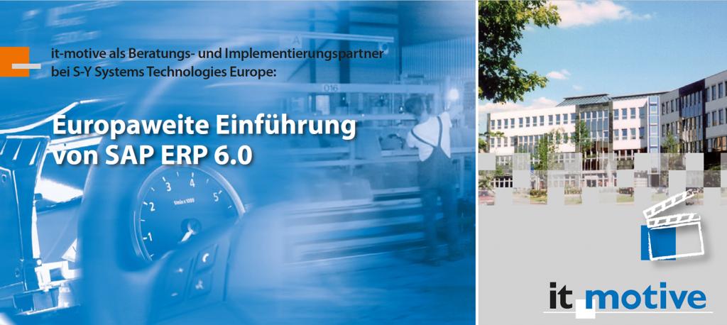Europaweite Einführung von SAP ERP 6.0