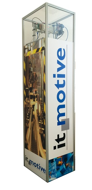 it-motive Messestand Industrie 4.0 Tower
