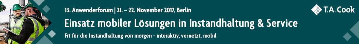mobile Lösungen Instandhaltung und Service - November 2017 Berlin