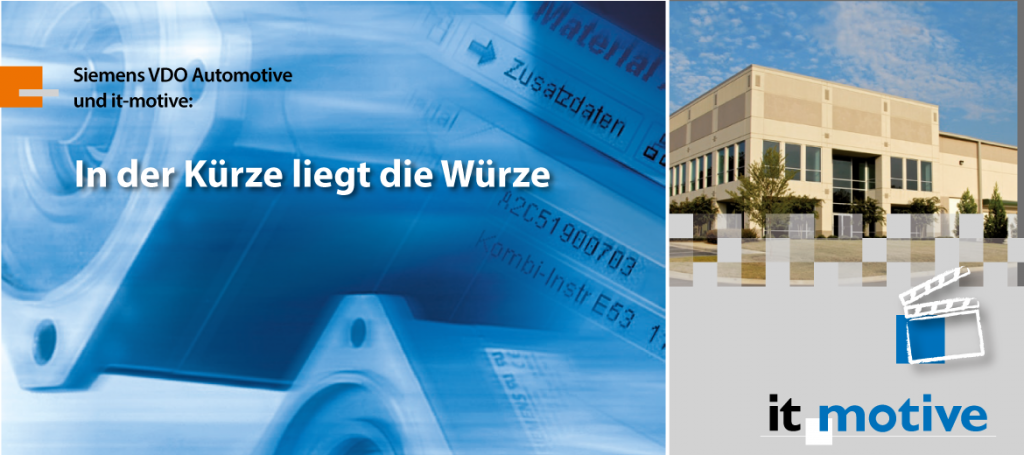 Siemens-VDO-Materialkurztext-Header