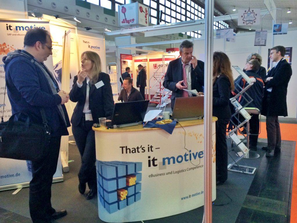 it-motive Stand auf der maintenance Messe 2017