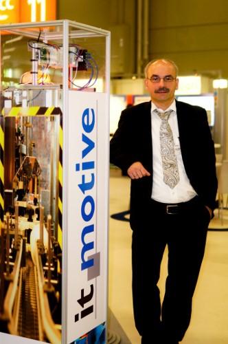 Klaus Martin Heinrich von it-motive auf dem DSAG Jahreskongress
