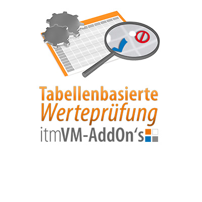 it-motive's tabellenbasiertes Werteprüfungs-Add-On