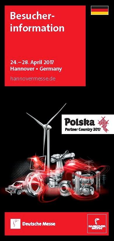 Besucherinformation Hannover Messe 2017 Broschüre