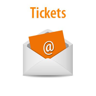 Ticket per Mail erhalten