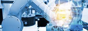 Roboterarm - Automatisierung und Digitalisierung in der Industrie 4.0