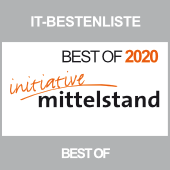 Best of 2020 Innovationspreis IT für itmRuleDesigner für visuelle Produktmodellierung von it-motive