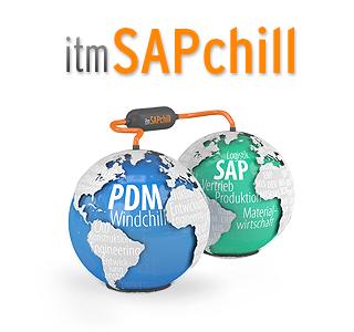 Icon_Schnittstelle: SAP-ERP und PDM-Welt